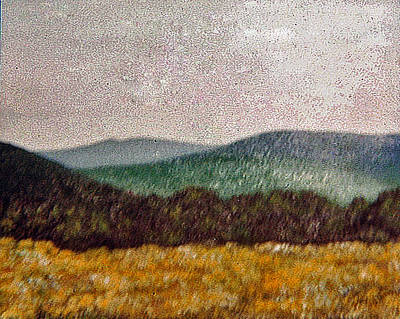 Painting - Soldiers Pennsylvania Landscaape by Michael Anthony Edwards