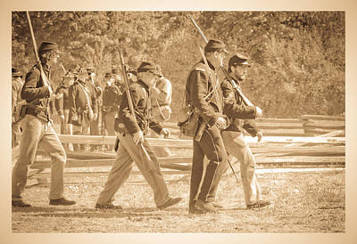 Photograph - Soldiers by Steve McKinzie