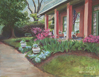 Painting - Soldini House by Ellen Howell