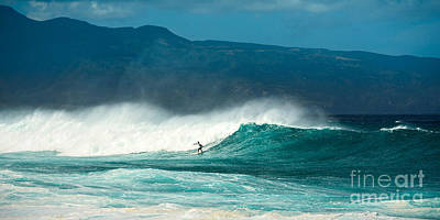 Beach Action Wall Art - Photograph - Sole Surfer by Jamie Pham