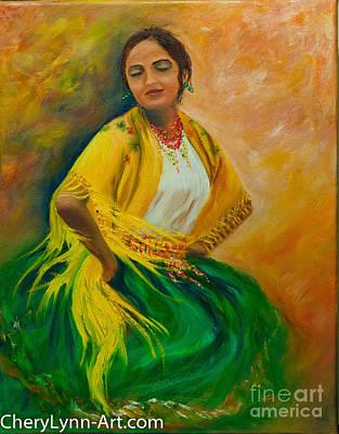 Soledad Art Print by CheryLynn Ferrari