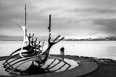 Photograph - Solfar Sun Voyager by Alexey Stiop