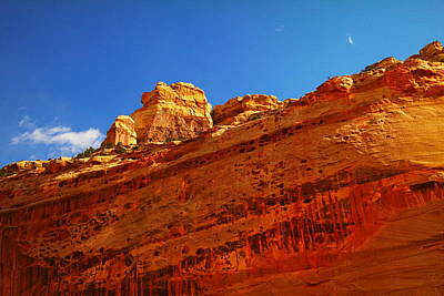 Capital Reef Photograph - Solid Stone by Jeff Swan