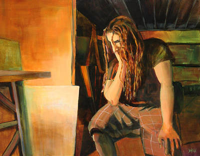 Dread Painting - Soliliquy by Sue  Darius