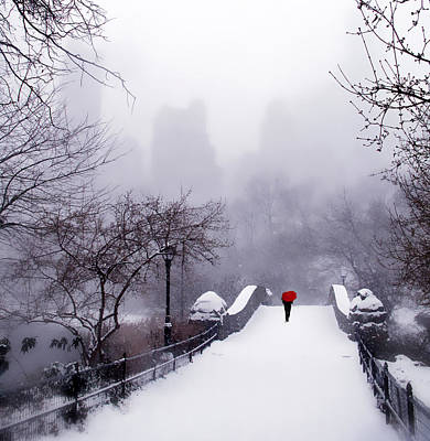 Winter Storm Digital Art - Solitude 2 by Jessica Jenney