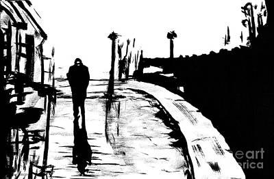 Solitude Art Print by Alys Caviness-Gober