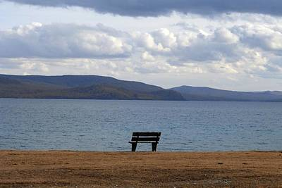 Photograph - Solitude At Lake Khuvsgul by Diane Height