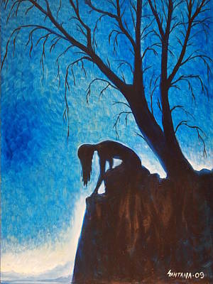 Painting - Solitude by Dayna Reed
