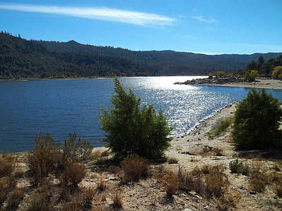 Photograph - Solitude - Lake Hemet by Glenn McCarthy