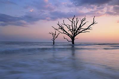Botany Bay Photograph - Solitude by Mike Lang