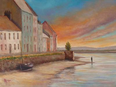 Painting - Solitude Near The Long Walk by Bernie Rosage Jr