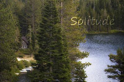 Photograph - Solitude by Sherri Meyer