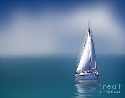 Digital Art - Solitude by Shirley Mangini