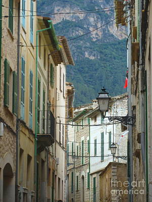 Photograph - Soller Village Shutters by Suzanne Oesterling