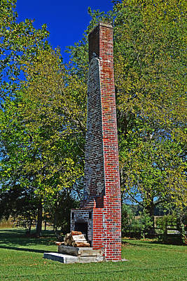 Photograph - Solo Chimney In Greenwood by Bill Swartwout Fine Art Photography