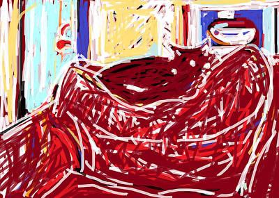 Solo In The Kitchen Print by Anita Dale Livaditis