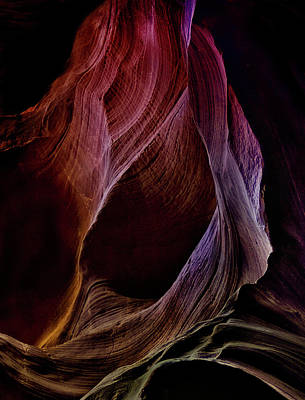Antelope Wall Art - Photograph - Solo Journey In Earth's Womb (1) by Yvette Depaepe