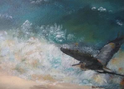 Susan Richardson Painting - Solo by Susan Richardson