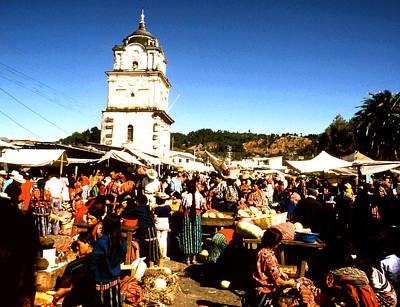 Photograph - Solola Sunday Market by Robert  Rodvik