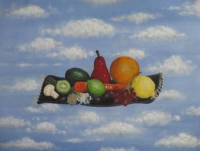 Solomon's Flying Feast Original by Christina Glaser