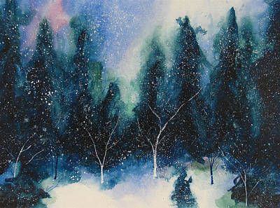 Winter Solstice Painting - Solstice by Nelson Ruger