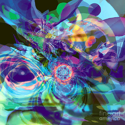 Digital Art - Solstice by Ursula Freer