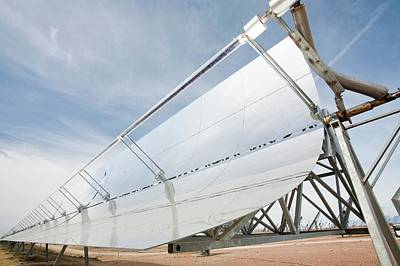 Solar Energy Photograph - Solucar Solar Complex by Ashley Cooper