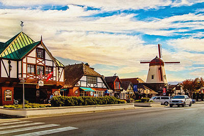 Photograph - Solvang California by Bob and Nadine Johnston