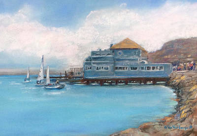 Painting - Soma's Restaurant  by Hilda Vandergriff