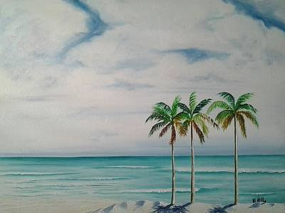 Painting - Some Beach Somewhere by Maria Mills