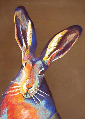 Lagomorphs Painting - Some Bunnie At Easter by Holly Wright