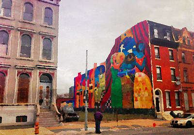 Photograph - Some Color In Philly by Alice Gipson