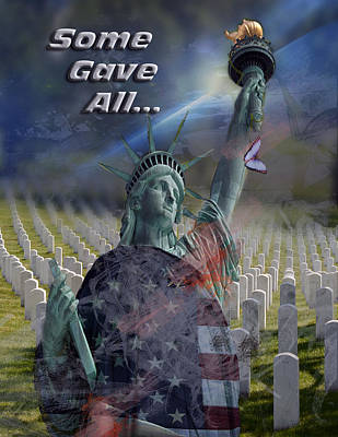 Some Gave All... Art Print by Jayne Gohr