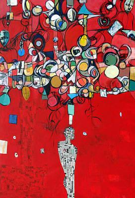 Painter Mixed Media - Some I Have Hurt Along The Way by Ronex Ahimbisibwe
