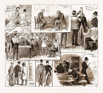 Connection Drawing - Some Incidents In Connection With An Army Examination by Litz Collection