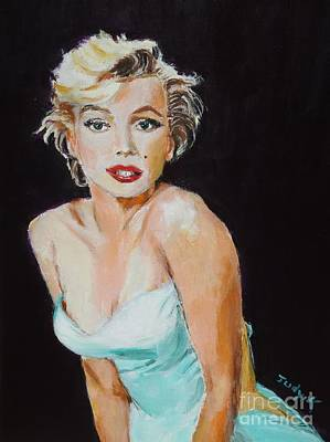 Art Print featuring the painting Some Like It Hot by Judy Kay