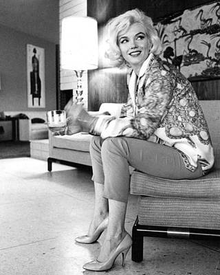 Monroe Photograph - Marilyn Monroe  by Retro Images Archive
