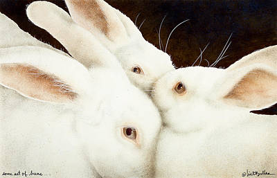 Bun Painting - Some Set Of Buns... by Will Bullas