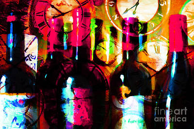 Cabernet Digital Art - Some Things Get Better With Time M20 by Wingsdomain Art and Photography
