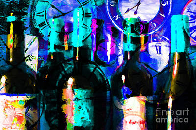 Cabernet Digital Art - Some Things Get Better With Time P180 by Wingsdomain Art and Photography