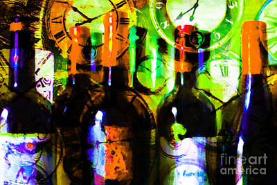 Cabernet Digital Art - Some Things Get Better With Time P28 by Wingsdomain Art and Photography
