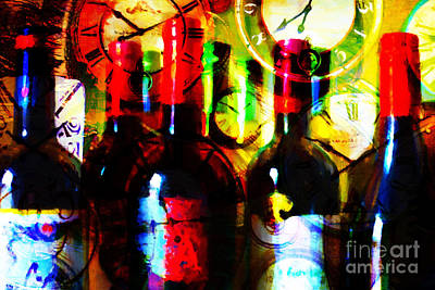 Napa Digital Art - Some Things Get Better With Time by Wingsdomain Art and Photography