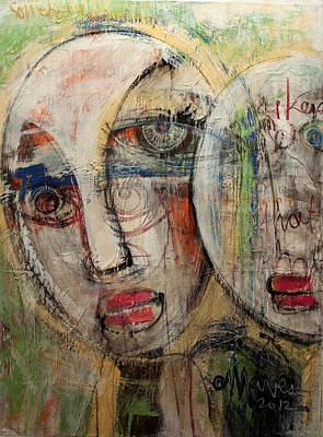 Painting - Somebody Already Broke My Heart by Laurie Maves ART