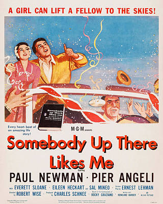 Somebody Up There Likes Me, Us Poster Art Print by Everett
