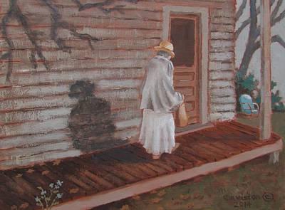 Painting - Somebody's  Mother  Too by Tony Caviston