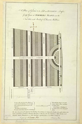 Cartography Photograph - Somers Place by British Library