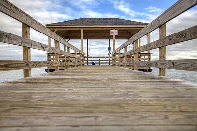 Photograph - Somers Point Pier by Al Hurley