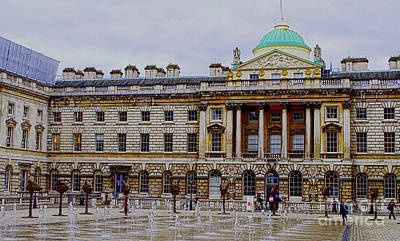 Photograph - Somerset House by MaryJane Armstrong