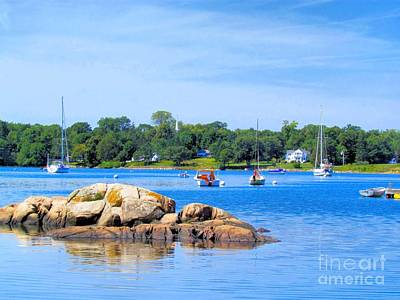 Somes Sound At High Tide Art Print