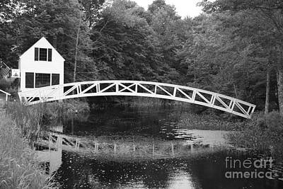 Somesville Photograph - Somesville Bridge  by Christiane Schulze Art And Photography